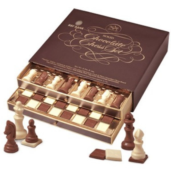 Belgian chocolate chess set choconet chocolates