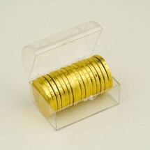 Treasure Chest of Chocolate Coins - Small