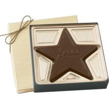 Chocolate Star in Gift Box