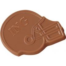 Chocolate Football Helmet