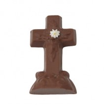 Chocolate Cross Decorated
