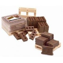 Pallet of Chocolate bricks/block