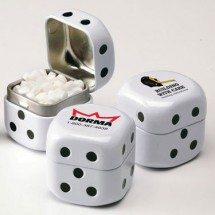 Dice Tin With Mints