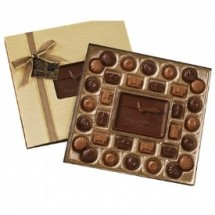 Custom Center Chocolate Bar Gift Box 16 oz.