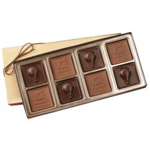 Custom Chocolate Square Gift Box - 8 Piece