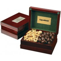 Wooden Gift Box with Confections