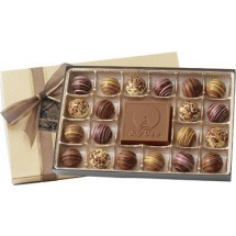 Truffles and Center Chocolate Bar Gift Box