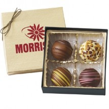 Chocolate Truffles Gift Box- 4 piece