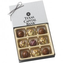 Chocolate Truffles in a Gift Box-9 piece