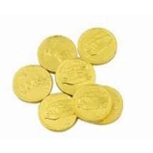 Medium Chocolate Gold Coins