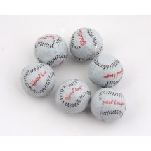 Chocolate Baseballs - 800 Per Case