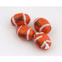 Chocolate Footballs - 630 Per Case