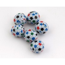 Chocolate Soccer Balls - 800 Per Case