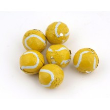 Chocolate Tennis Balls - 800 Per Case
