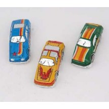 Chocolate Racing Cars 60 Per Case