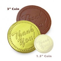 Thank You Chocolate Medallion 3