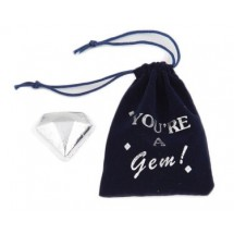 You're A Gem Bag with Chocolate Diamonds