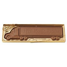 Chocolate Tractor Trailer 1 lb.