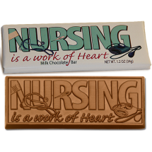 Nursing Wrapper Chocolate Bar