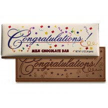 Congratulations! Wrapper Chocolate Bar