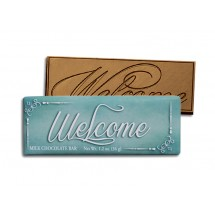 Welcome Wrapper Chocolate Bar