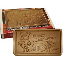 Merry Christmas 5 lb. Milk Chocolate Bar