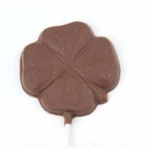 Shamrock Chocolate Lollipop