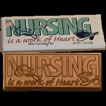 Nursing Wrapper Chocolate Bar