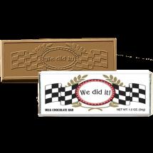 We Did it Chocolate Bar